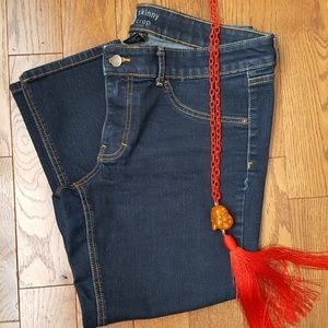Mossino skinny cropped jeans